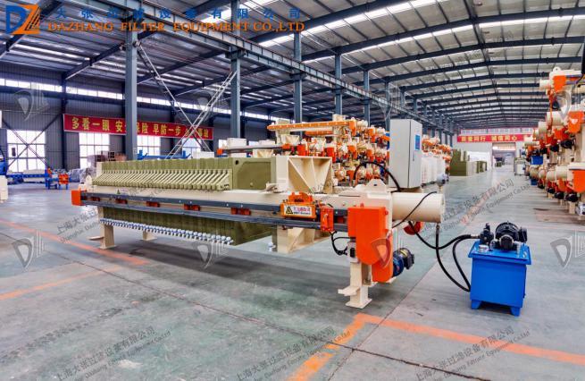 洗砂自动拉板厢式压滤机厂家